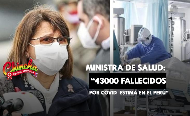 #CERCA DE 43,000 PERUANOS HABRÍAN FALLECIDO PRODUCTO DEL COVID-19, ESTIMA PILAR MAZZETTI