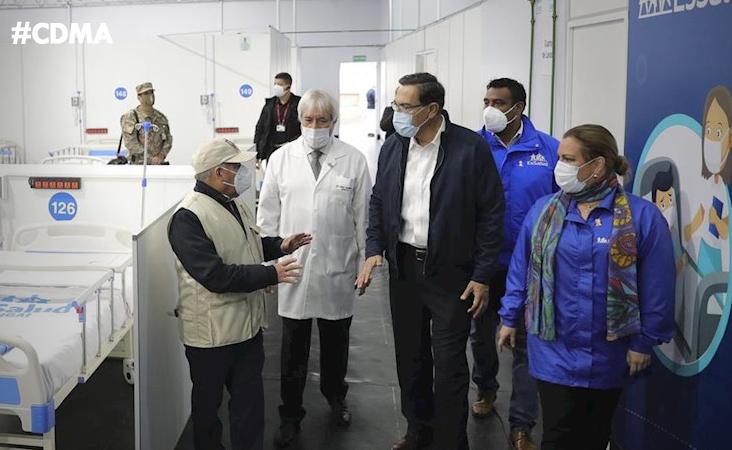 #GOBIERNO CENTRAL TOMA EL CONTROL DE AREQUIPA TRAS EL COLAPSO DE SU SISTEMA SANITARIO