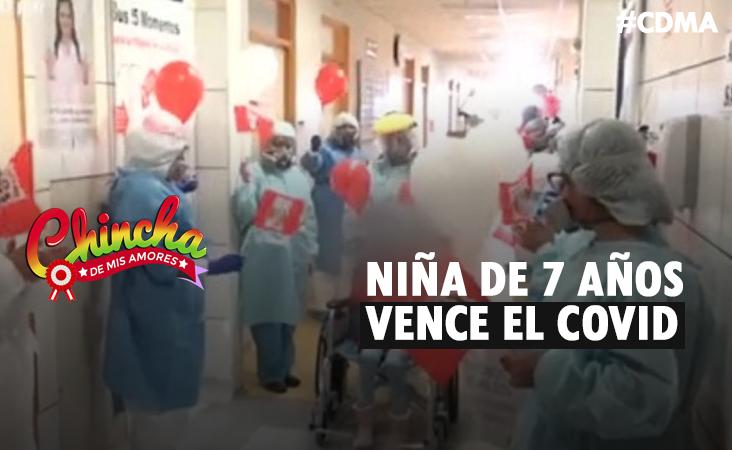 #NIÑA DE 7 AÑOS SUPERÓ EL CORONAVIRUS Y QUEMADURAS DE TERCER GRADO EN EL INSN
