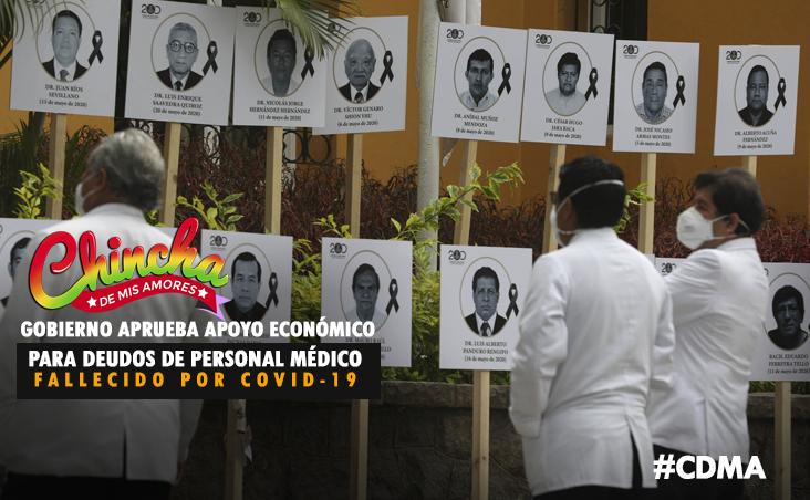 #GOBIERNO DISPONE APOYO ECONÓMICO A DEUDOS DEL PERSONAL DE SALUD FALLECIDO A CAUSA DE LA COVID-19