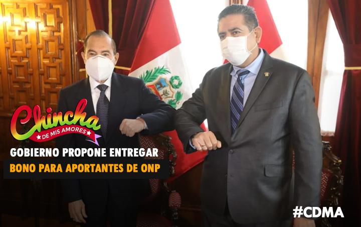 GOBIERNO PROPONE BONO PARA APORTANTES A LA ONP Y QUE SIGAN EN EL SISTEMA DE PENSIONES
