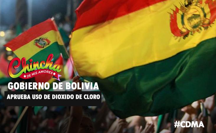 #BOLIVIA: CONGRESO APRUEBA USO DE DIÓXIDO DE CLORO PARA TRATAR CORONAVIRUS