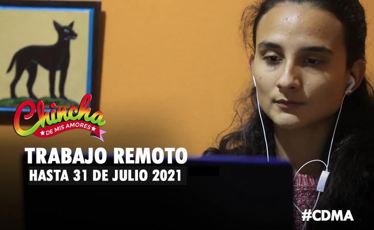 Trabajo remoto se ampliará hasta el 31 de julio del 2021, anunció Pedro Cateriano