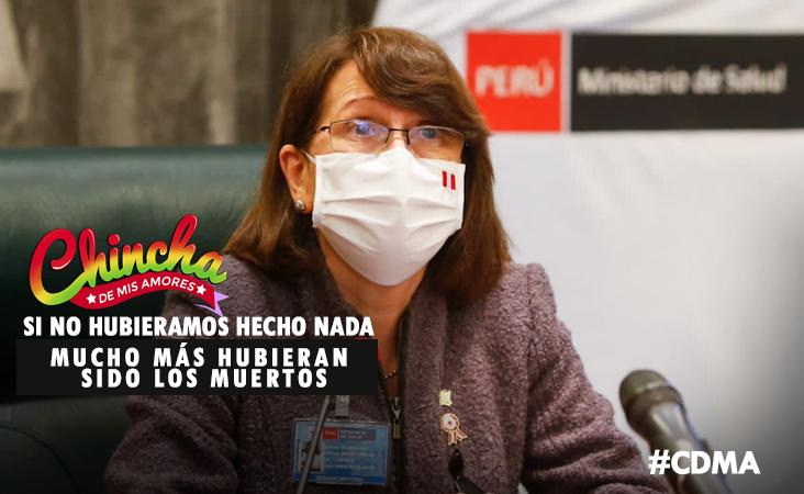 """""""HABRÍA MEDIO MILLÓN DE FALLECIDOS POR COVID-19 SI NO SE HUBIERA HECHO NADA"""""""