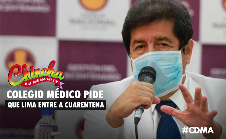 «LIMA NO DEBE SER EXCLUIDA DE LA CUARENTENA FOCALIZADA»