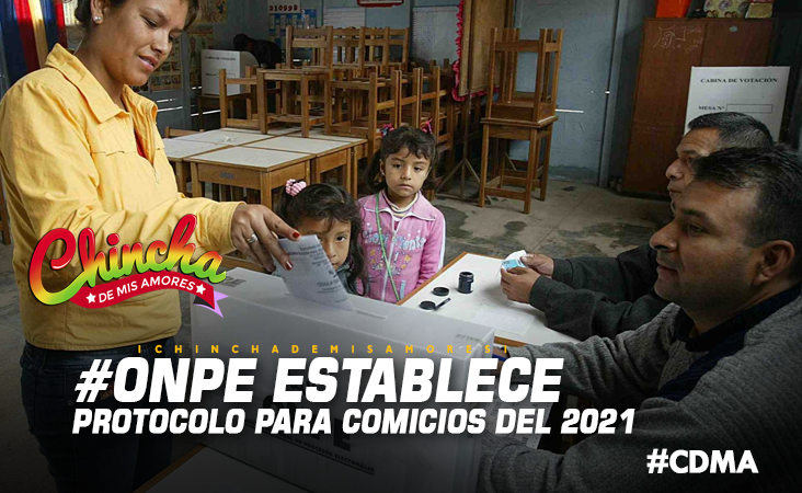 ONPE ESTABLECIÓ PROTOCOLO DE COMICIOS 2021 Y NO ES OBLIGATORIO LLEVAR LAPICEROS
