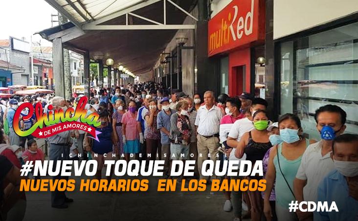 #NUEVO TOQUE DE QUEDA PERÚ: VER HORARIO DE ATENCIÓN DE BANCOS DESDE HOY VIERNES 15