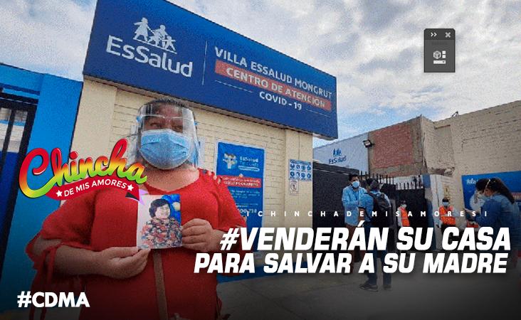 #VENDERÁN SU CASA PARA SALVAR A SU MADRE DEL COVID-19