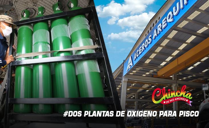 #DOS PLANTAS DE OXIGENO MEDICINAL DONARÁ ACEROS AREQUIPA