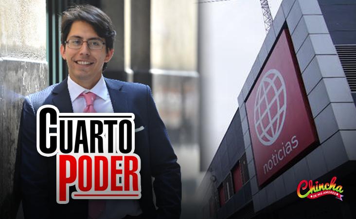 #CUARTOPODER YA TIENE NUEVO CONDUCTOR, FUE ANUNCIADO EL HIJO DE FEDERICO SALAZAR.