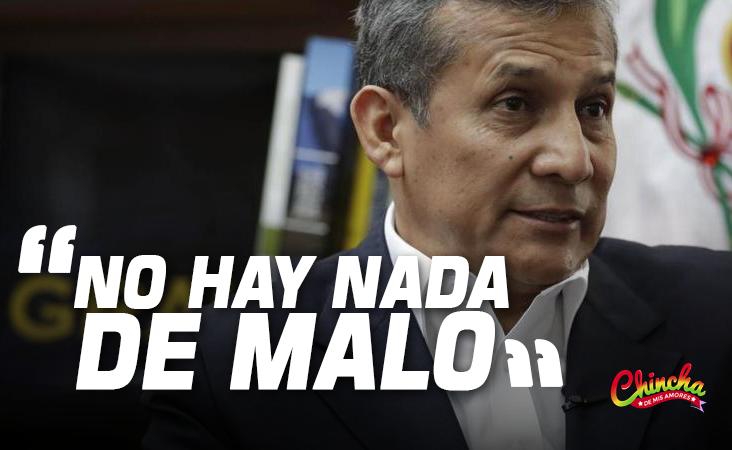 """HUMALA SOBRE EVO MORALES: """"NO HABRÍA NADA DE MALO QUE EL PRESIDENTE LO INVITE A PALACIO DE GOBIERNO"""""""