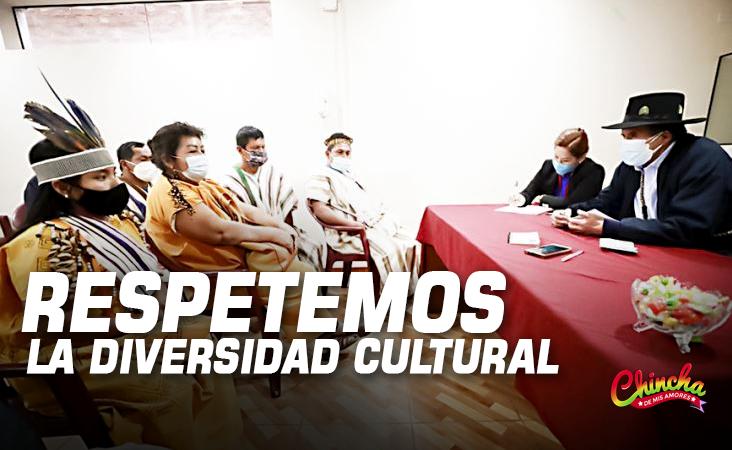 #MINISTRO CIRO GÁLVEZ: «HAY QUE RESPETAR LA DIVERSIDAD CULTURAL PARA CONSTRUIR UNA GRAN PATRIA»