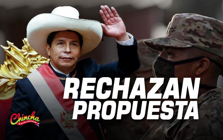 #DEFENSORÍA RECHAZÓ PROPUESTA DE PEDRO CASTILLO DE IMPLEMENTAR SERVICIO MILITAR OBLIGATORIO