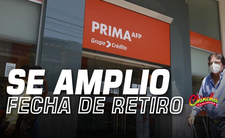 AMPLÍAN PLAZO PARA RETIRAR HASTA S/17,600 DE LOS FONDOS AFP