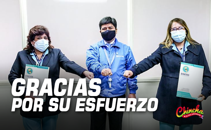 #PRESIDENTE DE ESSALUD RESALTÓ EL PAPEL DE LAS ENFERMERAS EN EL PROCESO DE VACUNACIÓN