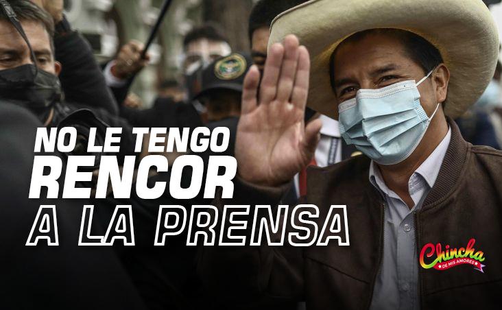 "PRESIDENTE CASTILLO: ""NO LE TENGO ODIO A LA PRENSA, NO LE TENGO ODIO A NADIE"""