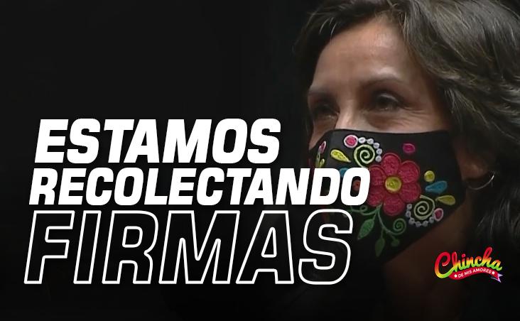#DINA BOLUARTE ASEGURÓ QUE CONTINÚAN RECOLECTANDO FIRMAS PARA REFERÉNDUM DE ASAMBLEA CONSTITUYENTE