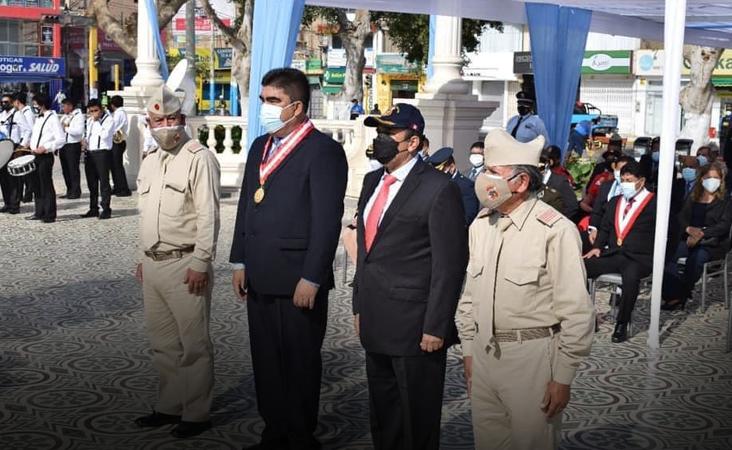 #PISCO CONMEMORA HOY 201 AÑOS DELHISTÓRICO DESEMBARCO DEL GENERAL JOSÉ DE SAN MARTÍN EN PARACAS