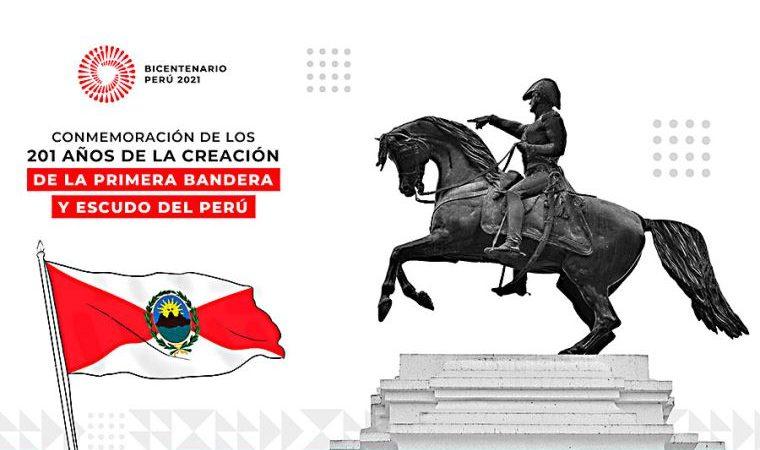 Ica: primera bandera y escudo nacional cumplirán 201 años y recorrerán calles de Pisco