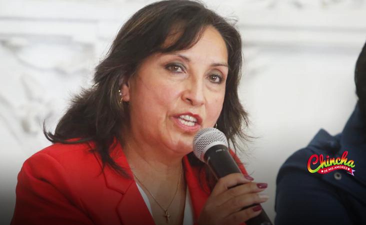 """Boluarte sobre Perú Libre: """"Nada ni nadie nos va a detener de esa línea que el presidente ha trazado"""""""